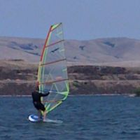 Riverfront Park Windsurfing, The Dalles OR, Даллес