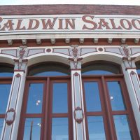 The iron facade of the historic Baldwin Saloon---bring a magnet!, Даллес