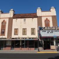 Old 1929 Granada Theater in The Dalles, Oregon, Даллес