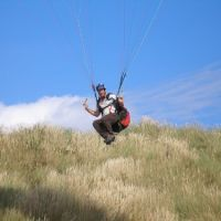 John Balwit paragliding, Мак-Миннвилл