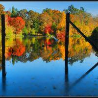 Kellogg Lake with Fall Colors, Милуоки