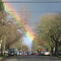 Uber-Bright Sellwood Rainbow, Милуоки