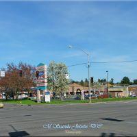 """""""La ciudad se ilumina para nuevas proezas.~~Le luci della città per nuovi talenti.~The city lights to new feats.(Homero Aridjis),Oregon,USA, Милуоки"""