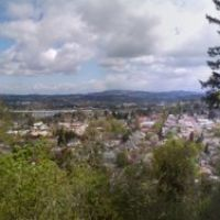 Overlook in Oregon City, Оак-Гров