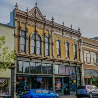 In the Historic District of old downtown Albany, Linn County, Oregon., Олбани