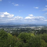 View of Portland from Rocky Butte, Паркрос