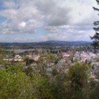 Overlook in Oregon City, Пендлетон