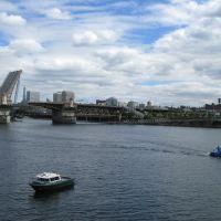 Willamette River, Portland 08/07, Портланд