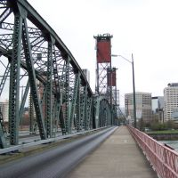 Hawthorne Bridge, Portland, Oregon, Портланд
