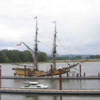The Lady Washington visits from Grays Harbor, WA, Сант-Хеленс