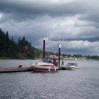 St Helens, Oregon - Sand Island., Сант-Хеленс