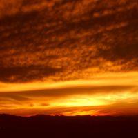 Sunset over the Willamette Valley 2.26.08, Спрингфилд
