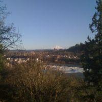 The Falls and Mt. Hood, Хеппнер
