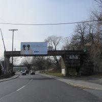 Former RR Overpass, Строудсбург