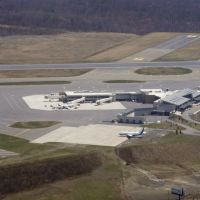 Wilkes-Barre/Scranton International Airport from the air, Авока