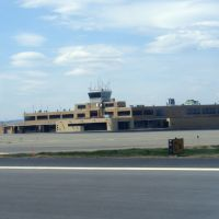 Wilkes-Barre/Scranton International Airport (KAVP/AVP) Control tower and old terminal, Авока