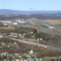 Turning on final to Wilkes-Barre/Scranton International Airport (AVP/KAVP), Авока