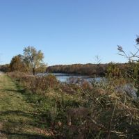 Schuylkill River Trail near Norristown, PA, Аппер-Мерион
