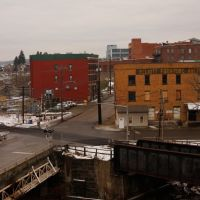Wayne Ave Viaduct Butler, Pa looking Southwest, Батлер