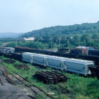 Baltimore and Ohio Railroad Freight Yard at Butler, PA, Батлер