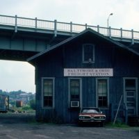 Baltimore and Ohio Railroad Freight Station at Butler, PA, Батлер