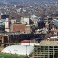 University of Pennsylvania from Center City, Белмонт