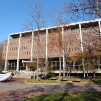 Van Pelt-Dietrich Library Center, the main library of Penn, Белмонт