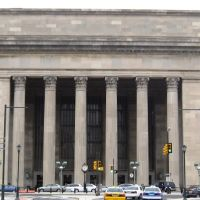 Philadelphia 30th Street Station - West facade. Philadelphia, PA, USA., Белмонт