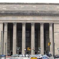 Philadelphia 30th Street Station - West facade. Philadelphia, PA, USA., Белмонт