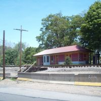 Hollsopple Rail Depot - Hollsopple Historical Society, Бенсон