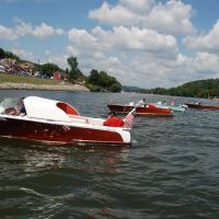Antique boats at the Bridgwater Beaver County Regatta., Бивер