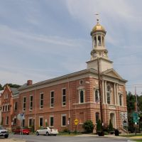 Perry Co. Courthouse (1826) New Bloomfield, PA 8-2012, Блумфилд