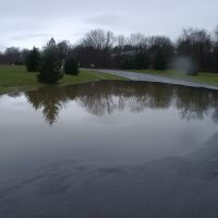 College Drive, Flooded - Bryn Athyn, Pennsylvania - December 11, 2003, Брин-Атин