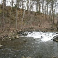 Small Crum Creek falls at Smedley Park, Брумалл