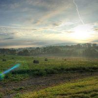 Sunrise over Dale Summit, Вайомиссинг-Хиллс