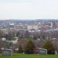 Washington, Pa from Cemetary Hill, Вашингтон
