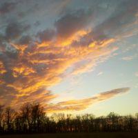 Sunset at Blue Marsh, Вернерсвилл