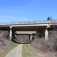 Mt. Nittany Expressway Over Bellefonte Central Rail Trail, Весливилл