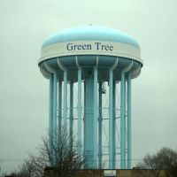Green tree water tower, Грин-Три