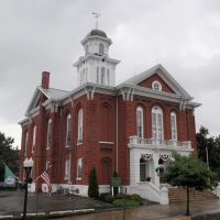 Montour Co. Courthouse (1871) Danville, PA 7-2013, Данвилл