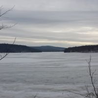 Ice Covered Lake Scranton, Данмор