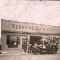 Turnpike Garage, circa 1925, Данмор