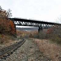 Old Rail Bridge, Данмор