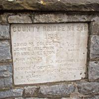 County Bridge No. 286 Builders Stone, Даунингтаун