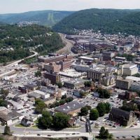 Johnstown, PA, viewed from the Incline Plane, Джонстаун