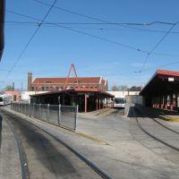 light rail platforms, 69th St. Terminal, Philadelphia, Ист-Лансдаун