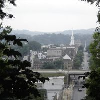 View of Easton from Lafayette College, Истон