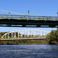 Northampton Street Bridge over Delaware River, Истон