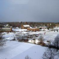 looking southwest over Edinboro University, Кембридж-Спрингс