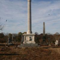 Schneider Memorial at Mt. Moriah Cemetary, Колвин